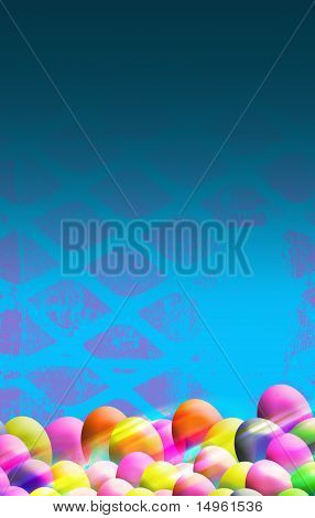 Easter Themed Background