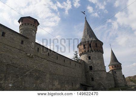 A big defensive fortress in Ukraine, Europe