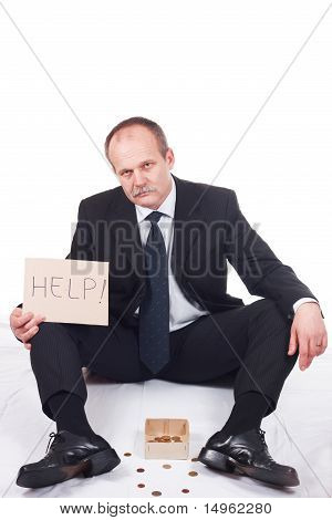 Bankrupt Businessman