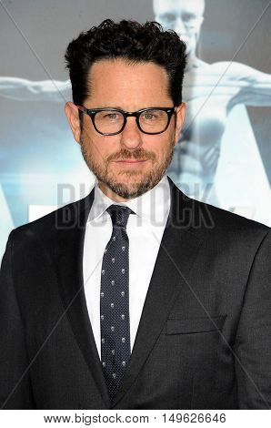 J.J. Abrams at the Los Angeles premiere of HBO's 'Westworld' held at the TCL Chinese Theatre in Hollywood, USA on September 28, 2016.