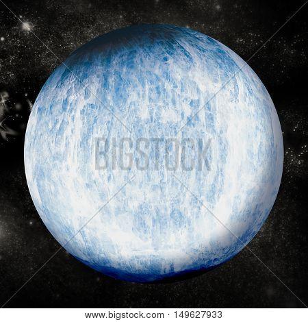 Digital image of earth