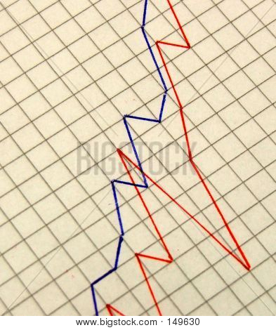 Stationary - Lines On Graph Paper