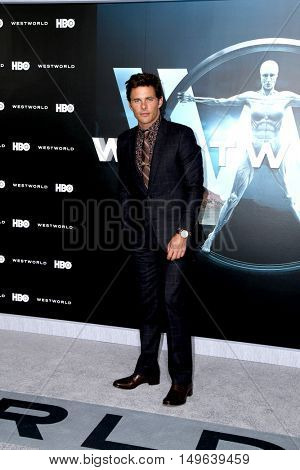 LOS ANGELES - SEP 28:  James Marsden at the HBO's