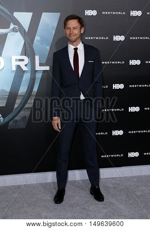 LOS ANGELES - SEP 28:  Jimmi Simpson at the HBO's