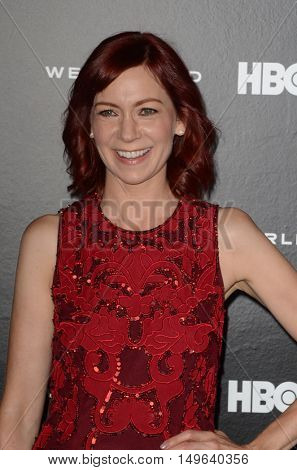 LOS ANGELES - SEP 28:  Carrie Preston at the HBO's