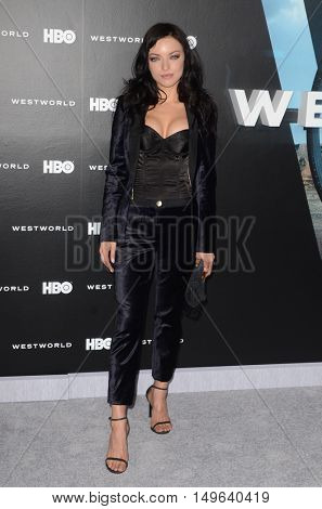 LOS ANGELES - SEP 28:  Francesca Eastwood at the HBO's
