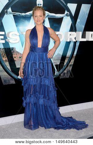 LOS ANGELES - SEP 28:  Ingrid Bolso Berdal at the HBO's