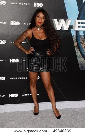 LOS ANGELES - SEP 28:  Kendall Lake at the HBO's