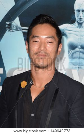 LOS ANGELES - SEP 28:  Leonardo Nam at the HBO's