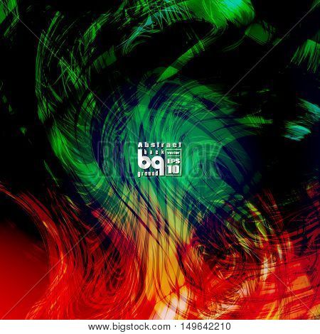 Vector illustration futuristic colorful texture abstract background glitch