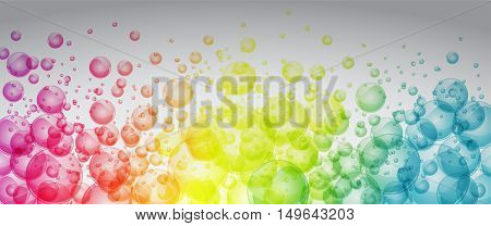 Rainbow Color Bubbles