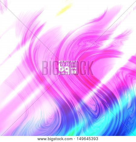 Vector design colored abstract background futuristic illustration glitch infinity
