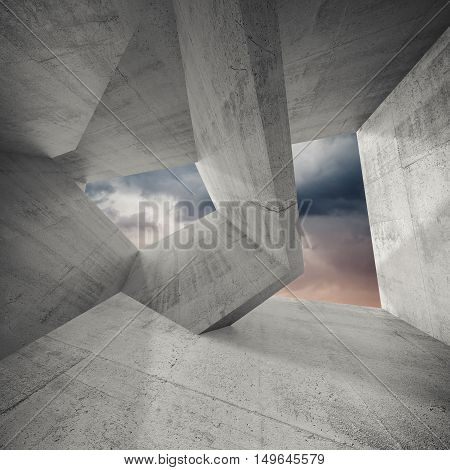 Abstract Architecture Background, 3D