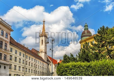 Augustinian Church (Augustinerkirche ) in Vienna is a parish church located on Josefsplatz next to the Hofburg (1339). Austria.