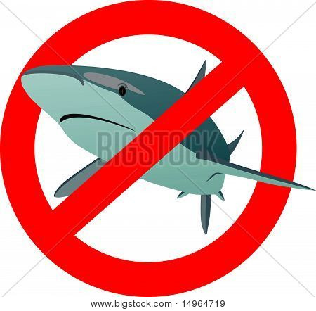 The sign of the shark