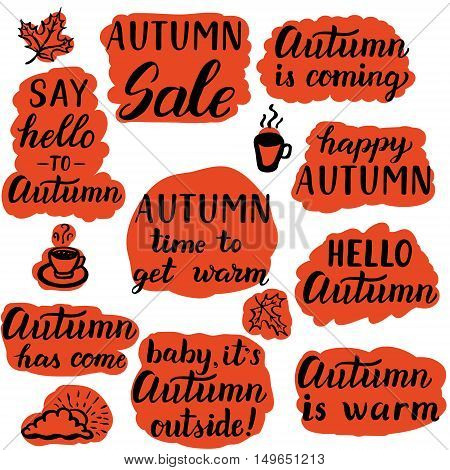 Say Hello To Autumn Labels