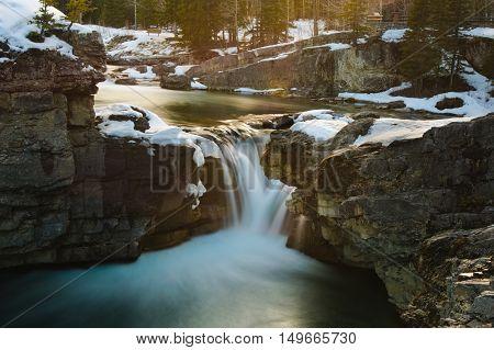 Beautiful Elbow Falls