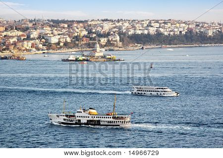 Istanbul ferryboats