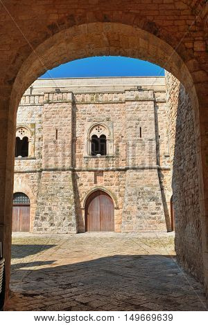 Caracciolo castle. Sammichele di Bari. Puglia. Italy.