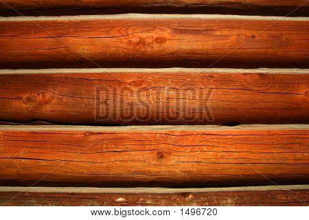 Log Cabin Background