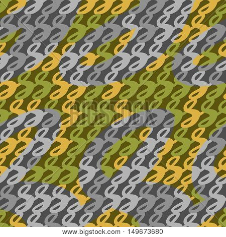 Camouflage seamless pattern, vector illustration for Your design, eps10