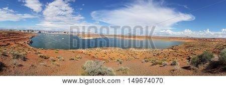 panorama Lake powell bryce canyon national park