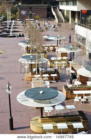 Barbican Square In London