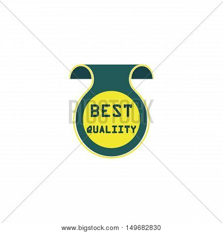 Quality Icon Vector. Flat simple color pictogram