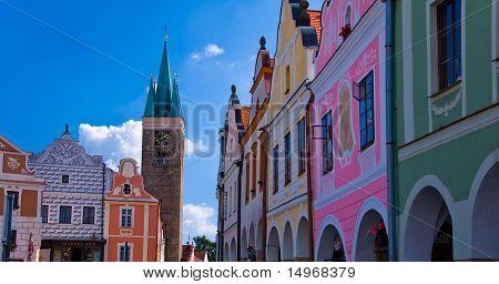 Square Telc, Czech republic