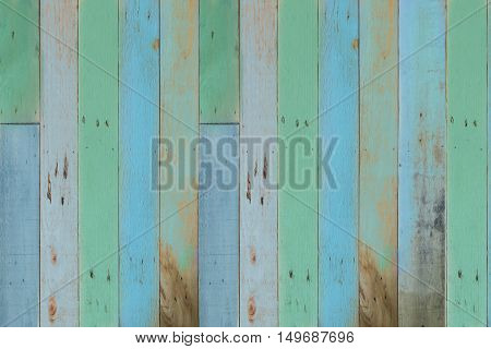 retro pastel wood wall or floor texture background