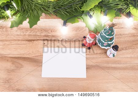 Chrsitmas Concept And Copyspace