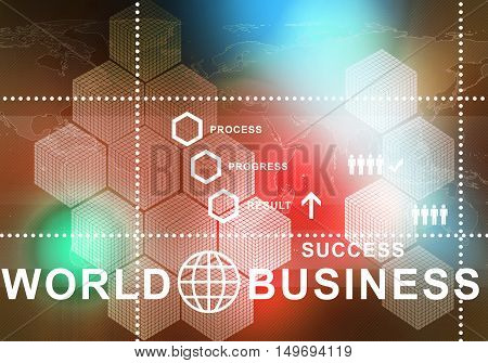 abstract digital background image, presenting modern business concepts