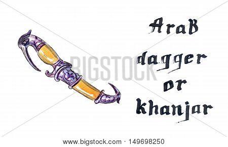 Arab dagger or