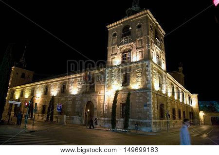 streets, monuments, buildings and details of the town of Alcala de Henares, Spain