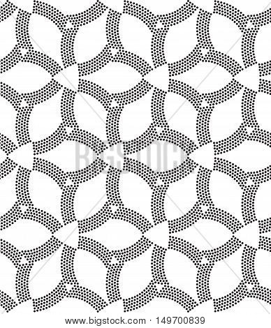 Seamless Pattern Perforation Bacground