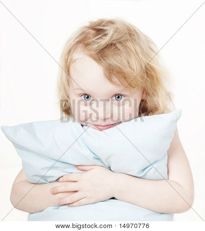 Girl With Pillow
