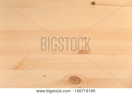 New Wooden Plank Panel Made Of Pine Tree