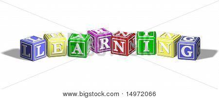 Learning Alphabet Blocks