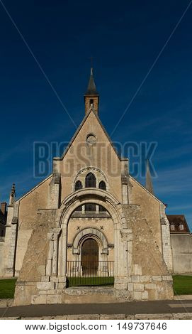 The Art gallery of Chartres Eure et Loire France.
