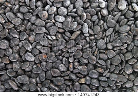 Pebble Stone As Background