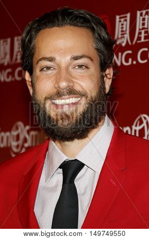 Zachary Levi at the 2016 Operation Smile's Annual Smile Gala held at the Beverly Wilshire Hotel in Beverly Hills, USA on September 30, 2016.