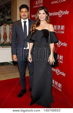 Ali Landry and Alejandro Gomez Monteverde at the 2016 Operation Smile's Annual Smile Gala held at the Beverly Wilshire Hotel in Beverly Hills, USA on September 30, 2016.