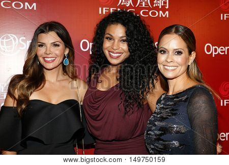 Ali Landry, Jordin Sparks and Brooke Burke at the 2016 Operation Smile's Annual Smile Gala held at the Beverly Wilshire Hotel in Beverly Hills, USA on September 30, 2016.