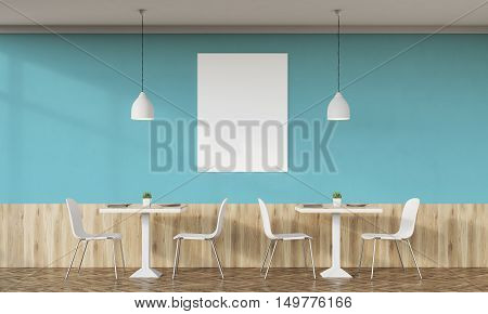 Family Cafe With Green Walls