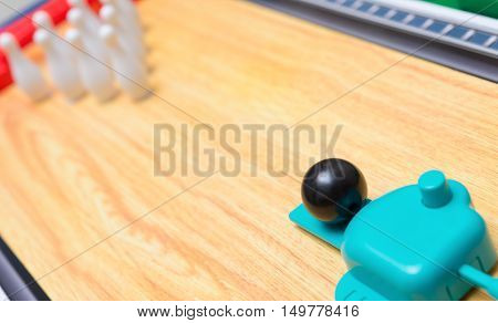toy bowling set for kid horizontal compsition