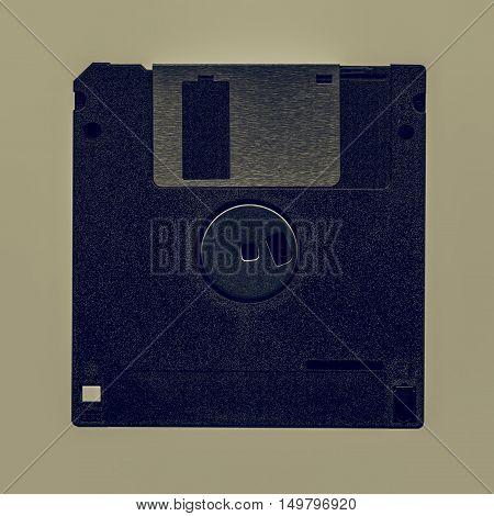 Vintage Looking Floppy Disk