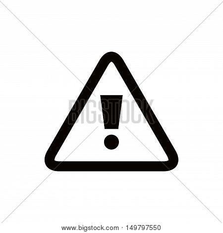 alert icon stock vector illustration flat design