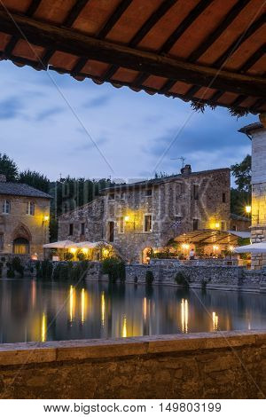 Bagno Vignoni Spa and wellness in the heart of Tuscany