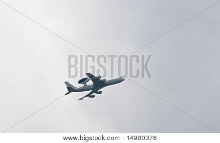 Awacs Over Uk