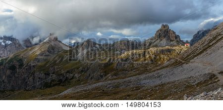 Tre Cime del Lavaredo, Dolomiti, South Tyrol, Italy